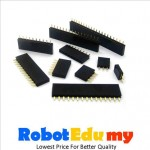 Electronic Component-Straight Pin Header 7p/ 8p/10p / 1x40ways (female)