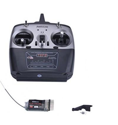 RadioLink T8FB 2.4GHz 8CH Radio Transmitter Receiver RC RF Controller