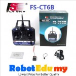 Flysky 2.4G CT6B Channel Transmitter Receiver R6B RC RF Controller