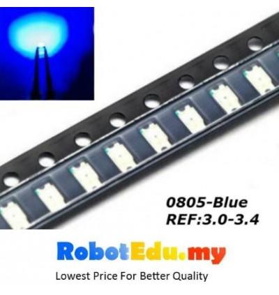 0805 SMD LED , Red Blue [10 pcs]