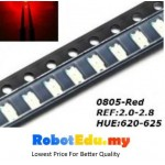 0805 SMD LED , Red Blue [10 pcs]
