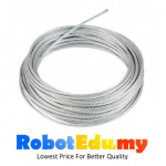 Stainless Steel 304 String Rope Chain Wire 2mm (1meter)