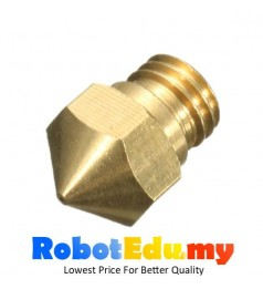 3D Printer High Quality 0.4mm 0.5mm Extruder Nozzle for 1.75mm Filament