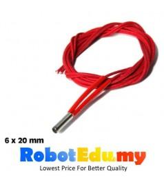 3D Printer 40W 12V , 24V Nozzle Extruder Cartridge Heater Wire (100CM)