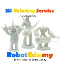 [Contact Seller] 3D High Quality PLA Rapid Model RP Printing Service RM 0.5 / g