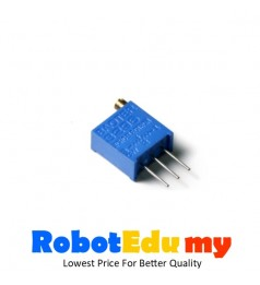 3296 W Precision Multi-Turn Adjustable Resistance  Potentiometer  Rheostat  (5K Ohm)