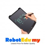 LCD Tablet Children's Drawing Board Graffiti Electronic Light Small Blackboard Writing Board Hand-Painted Plate (8.5 inch)