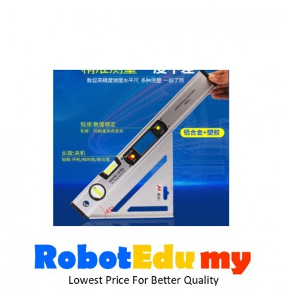 Electronic Digital Level Gauge Measuring Instrument Tools / Aluminum Alloy High-precision Digital Level