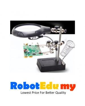 Ultimate Soldering / Welding Workbench With High Power Magnifier / Lamp Bracket Multi-Function  Mobile Phone Motherboard Repair