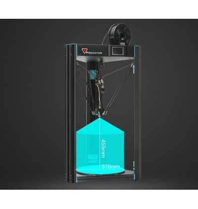 Anycubic Predator Large Printing Size with Auto Leveling Kossle Delta 3D Printer
