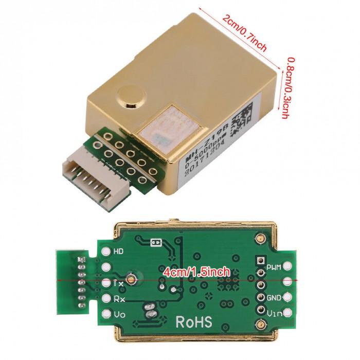 Infrared Carbon Dioxide Sensor Mh-z19b Co2 Sensor Module Air Conditioning Appliance Parts