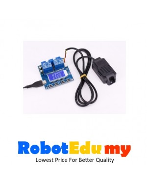 Automatic Digital Display Temperature And Humidity Control Switch Module Instrument Board