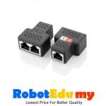 Ethernet Network Cable Splitter Three-way rj45 simultaneous Internet IPTV broadband Splitter