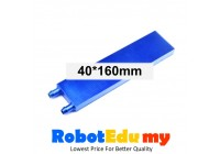 40x160mm Blue CPU Liquid Water Cooled Head Plate Semiconductor Refrigeration Fin Radiator