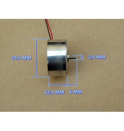 DC 5V-6V 6600RPM Mini 300 Solar Power Motor Low Noise Small Round Toy Motor DIY