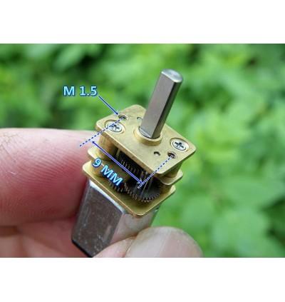 DC 3V-6V 5V GA12-N20 MINI / MICRO METAL GEAR HIGH SPEED DC MOTOR 75 RPM