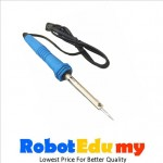 Electronic Soldering Iron Welding Gun Insulated Handle 220V Deep Blue