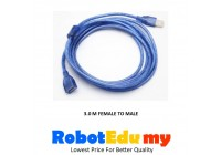 USB Male To Female Data Connection Extension Cable (3 m)