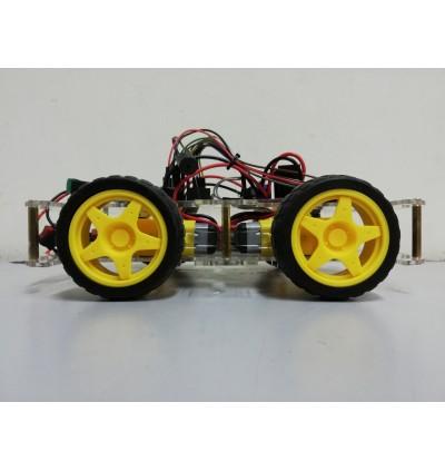 Arduino 4WD PS2 Remote Control Robot Car