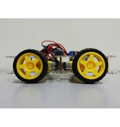 Arduino 4WD NodeMCU ESP8266 IoT Blynk Wifi Remote Control Robot Car