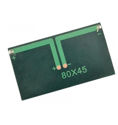 [Star Solar] 80x45-5.5 5.5V 80mA 0.45W High Efficiency Solar Panel