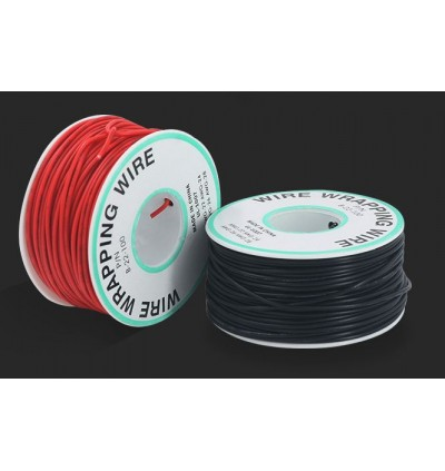 OK WIRE AWG 22 SINGLE CORE WIRE 1 ROLL (30M)