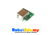 USB Type B Female to DIP Adapter Board 4 Pin 2.54mm Pitch Converter Board