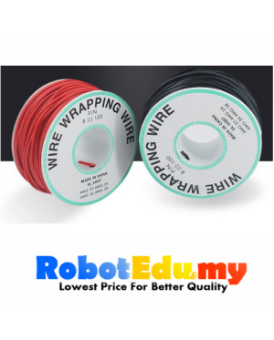 OK WIRE AWG 22 SINGLE CORE WIRE ( 1 Meter)