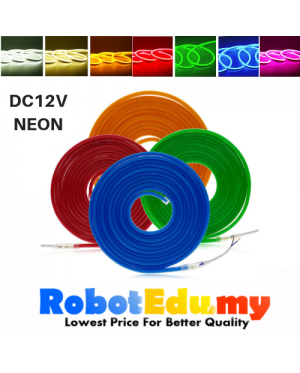 DC12V 2835 Flex LED Neon Strip Light Silicone Tube 8mm*16mm Waterproof IP67 (1M)
