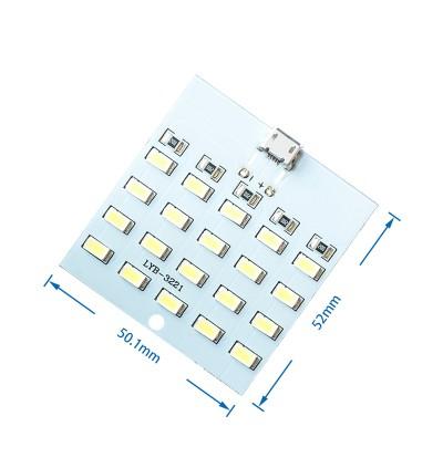 DC5V 20 LED Micro USB Super Bright Light Emergency Lamp Lighting Module 5730