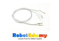 2pin Copper Pin Connector Flexible Wire Extension For AC220V Neon LED Strip Light (15cm / 45cm)