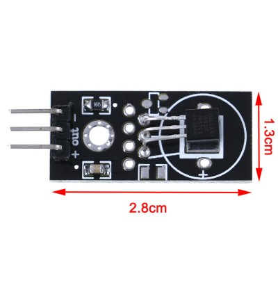 Arduino DS18B20 DS 18B20 Digital Temperature Sensor Thermometer Module (3 pin)