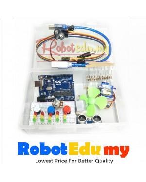 [DIP UNO R3] Arduino DIP UNO R3 Super Basic Electronics Beginner Entry Robotics Primary School Starter Kit v2
