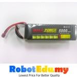 22.2V 30C 6S 5000mah Lipo Li-Po Rechargeable High Amp Lithium Battery