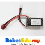 Arduino 7.4v 2s 25c 500mAH Rechargeable LiPo Li-Po Lithium Battery