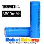 [BEST] LC 18650 3.7V 3800MAH Blue Li-ion Rechargeable Lithium Battery