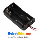 Electronic Component - 2*AA Double A 1.5v 3v Battery Holder Casing