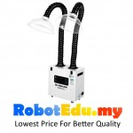 300W Dual Suction Portable Smoke Fume Extractor Mobile Air Cleaner ;