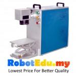 20W Portable Fiber Laser Engraving Metal Marking Maker CNC Machine